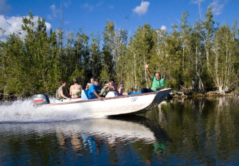 Boat trip on the Hatiguanico River - Cuba