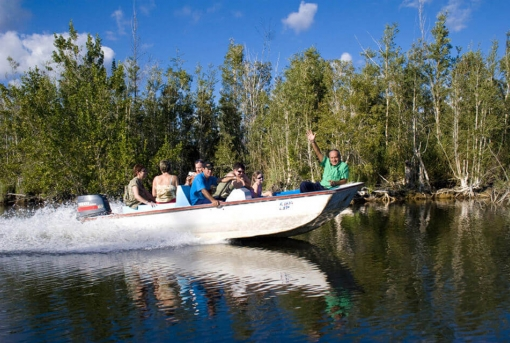 Boat trip on the Hatiguanico River